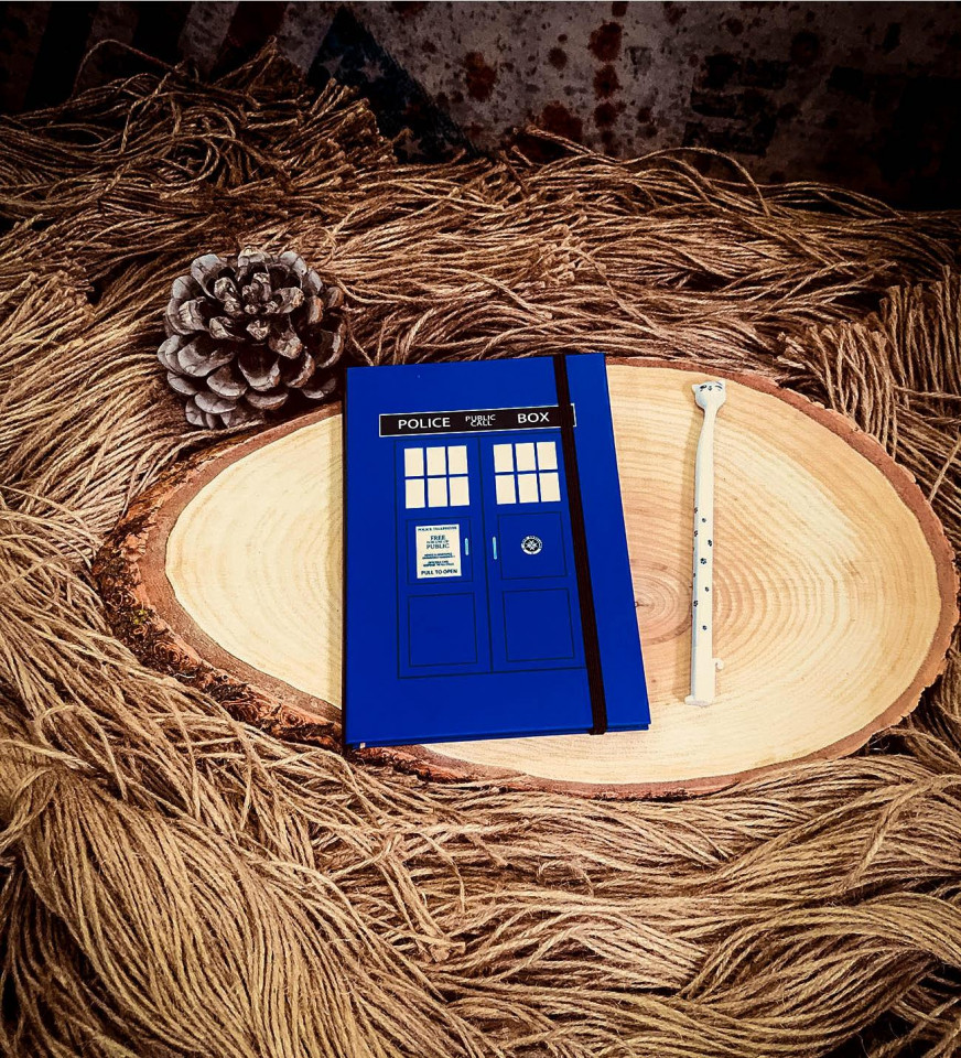 Dr Who Defter