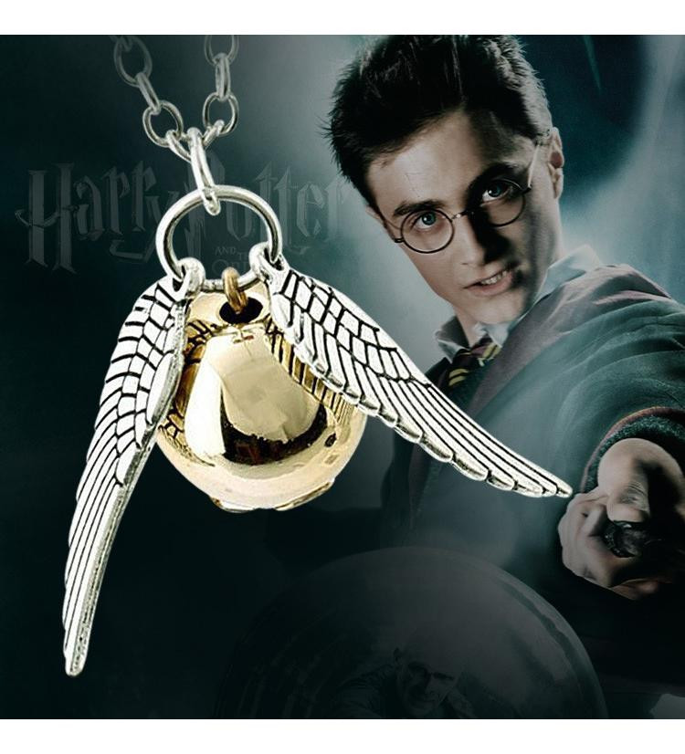 Harry Potter Snitch Kolye